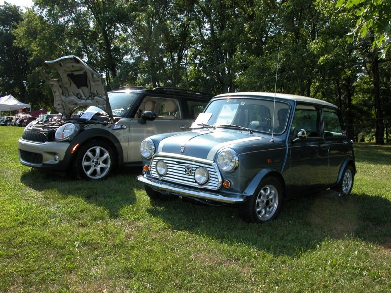 Mini\'s - Old and new