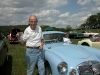 Original owner, Bob Wagner, with his 1960 MGA coupe